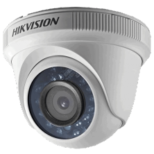 Hikvision CCTV Camera Dome | 1 MP (Plastic Body) | DS-2CE56C0T-IRP(2.8mm/3.6mm)