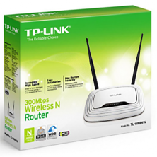 TP Link 300Mbps Wireless N Router with 2 Fixed Antennas | TL-WR841N