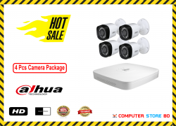 Dahua (4 Pcs CC Camera Package )