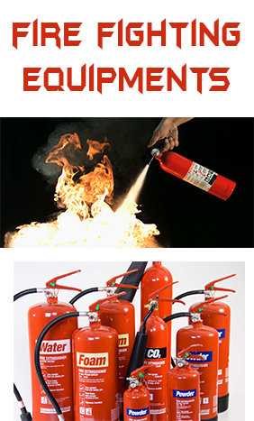 Fire Extinguisher & Equipments